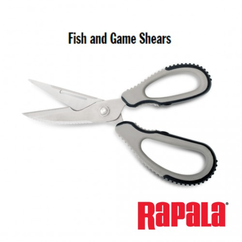 Tesoura Rapala Fish & Game Shears