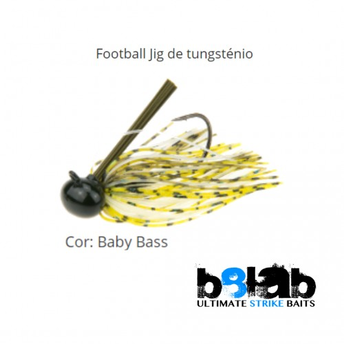 B8Lab Tugsten Football Jig