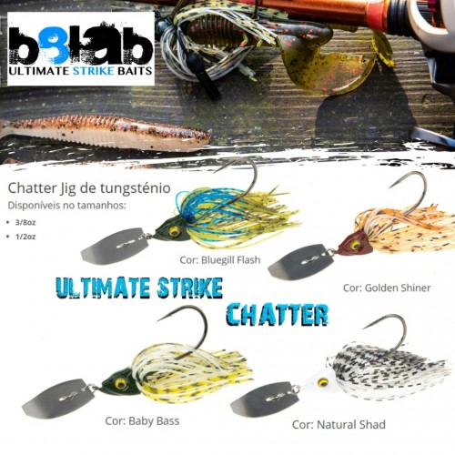 Amostra Chaterbait B8Lab Ultimate Strike Chater