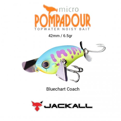 Amostra Jackal Micro Pompadour