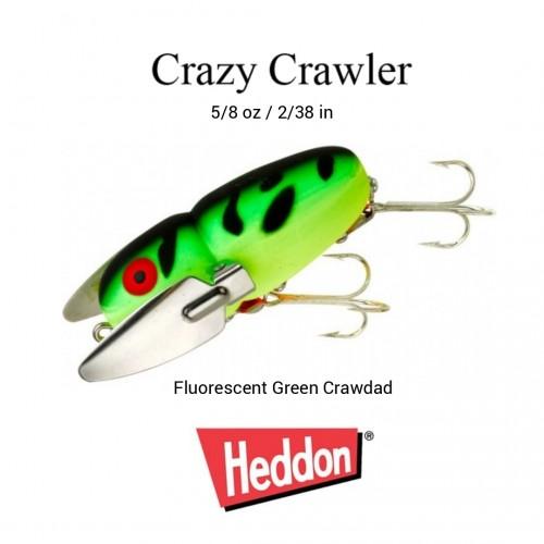 Amostra Heddon Crazy Crawler 5/8