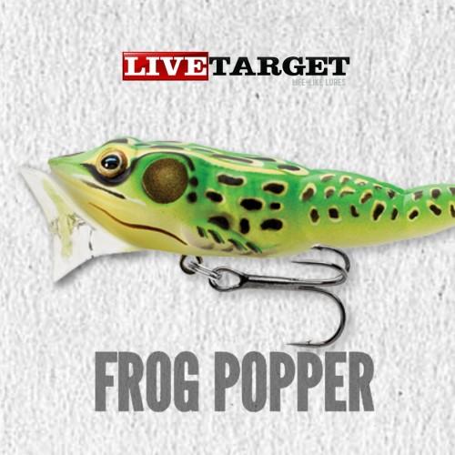 Amostra Live Target Frog Popper