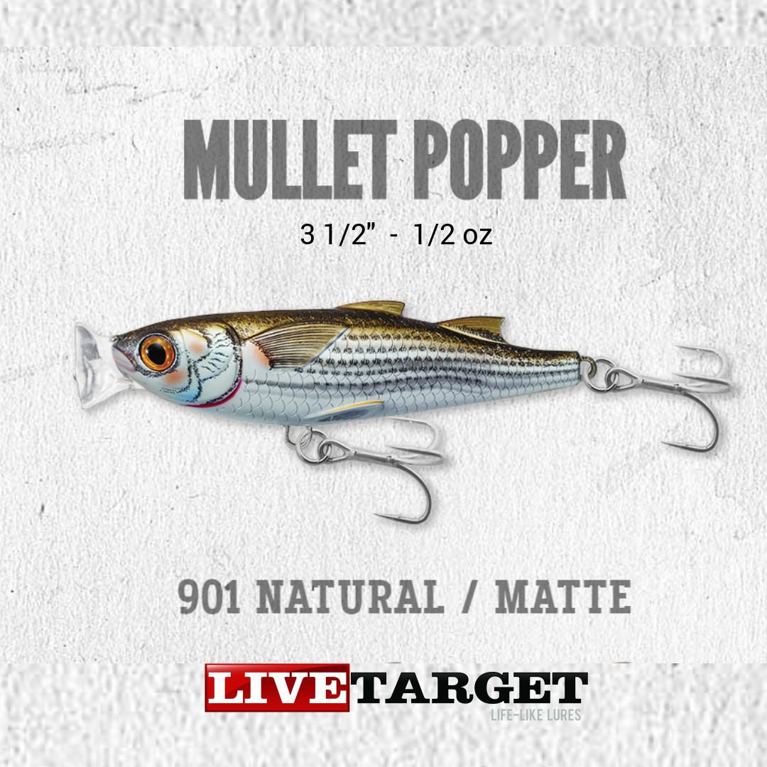 Livetarget Lures MUP90T901 Mulet Popper