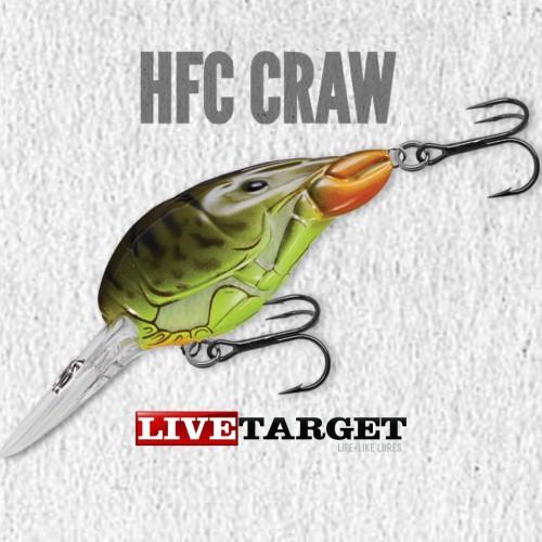 Amostra Livetarget HFC Craw 50