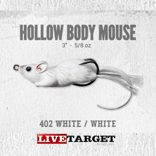 Amostra Livetarget Hollow Body Mouse 60