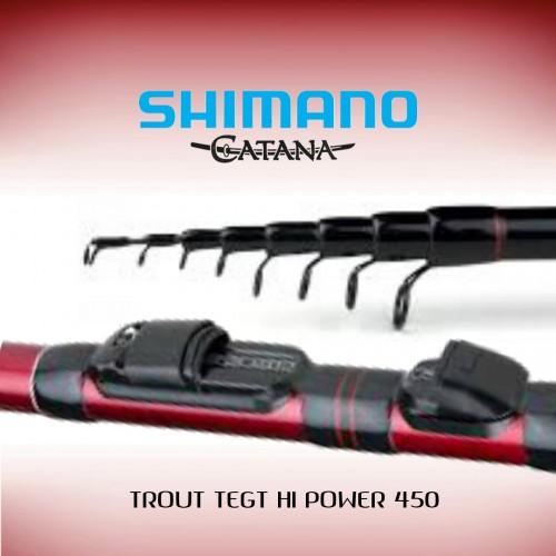 Cana Shimano Catana Trout Tegt Hi Power 450