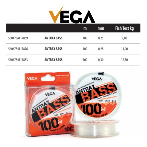 Linha Vega Antrax Bass