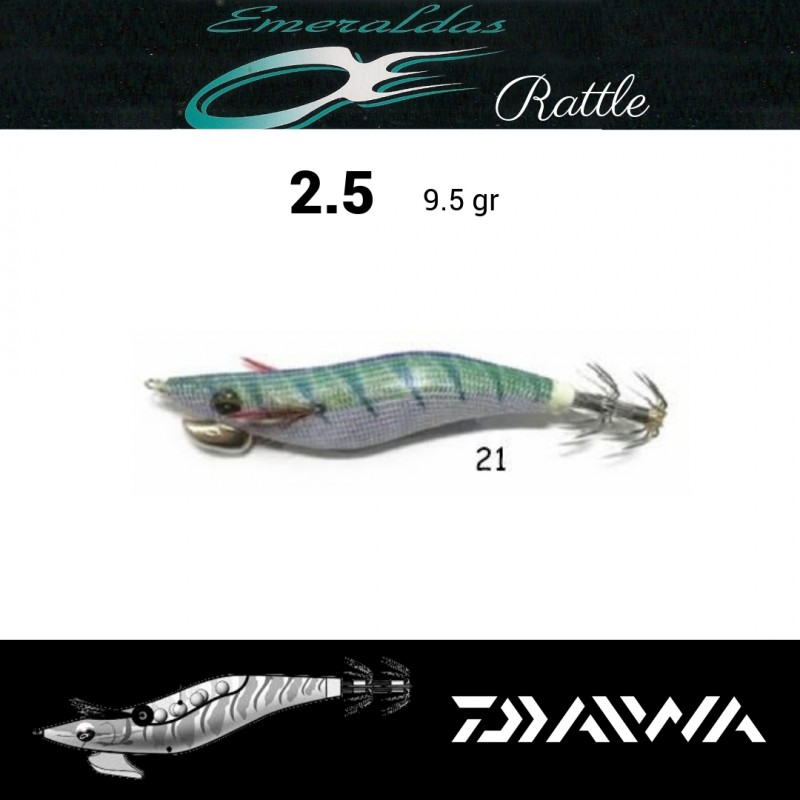 Daiwa Emeraldas Rattlin