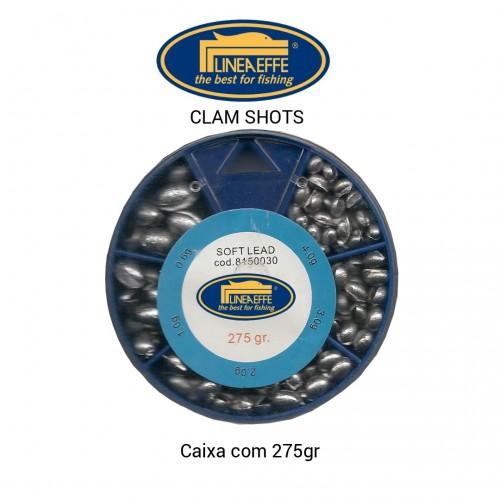 Chumbo Clam Shot Linea Effe, Sortidos