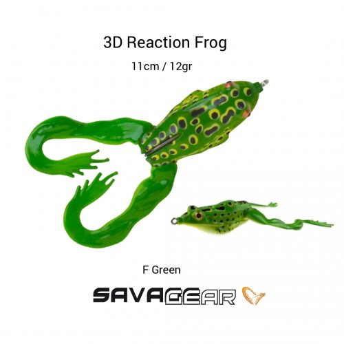 Amostra Savage Gear 3D Reaction Frog