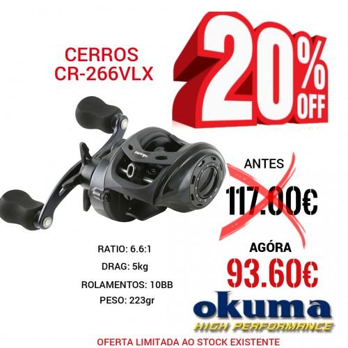Carreto Okuma Cerros CR-266VLX