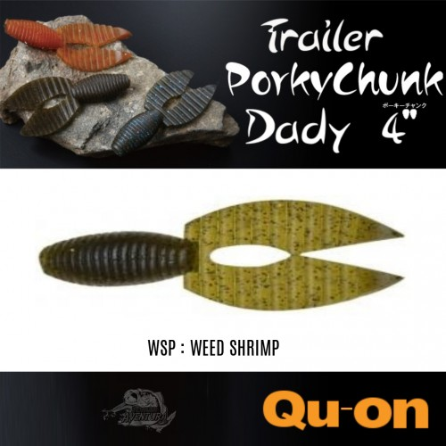 Quon Porky Chunk Dady 4""