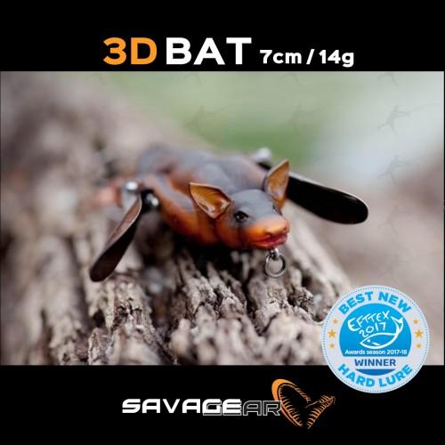 Amostra Savage Gear 3D Bat 7