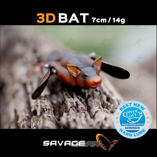 Amostra Savage Gear 3D Bat 7