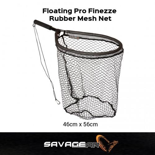 Savage Gear Floating Pro Finezze Rubber Mesh Net 46x56
