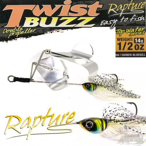 Amosstra Rapture Twist Buzz Double Propeller 1/2