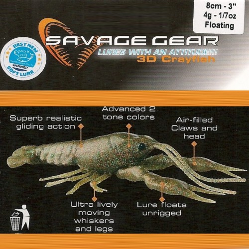 Savage Gear 3D Crayfish