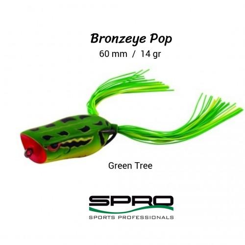Amostra Spro Bronzeye Pop 60