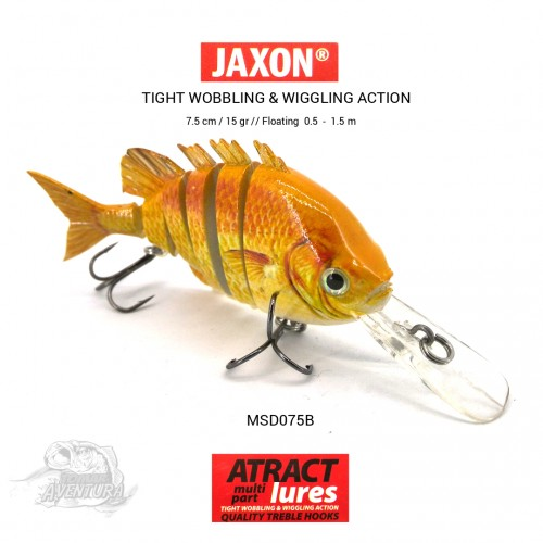 Amostra Jaxon Multi part Atract Lures