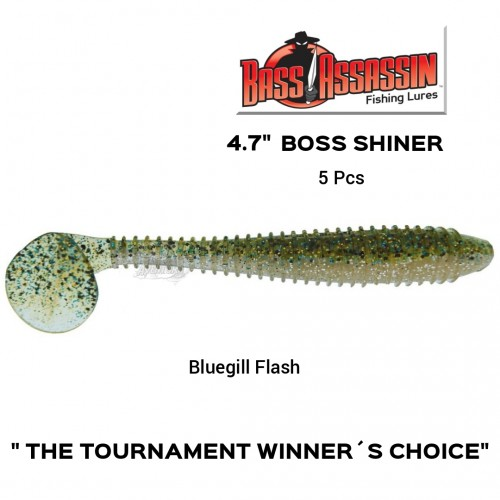 Amostra Bass Assassin Boss Shiner