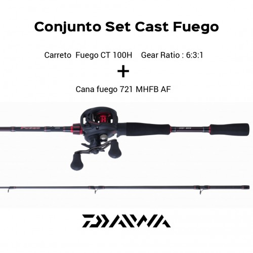 Conjunto Set Cast Fuego