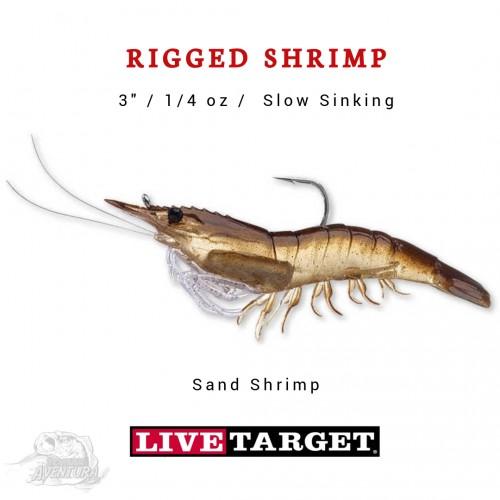 Amostra LiveTarget Rigged Shrimp