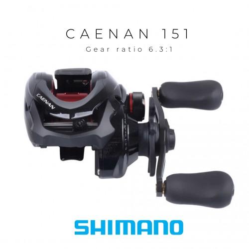 Carreto Baitcasting Shimano Caenan 151