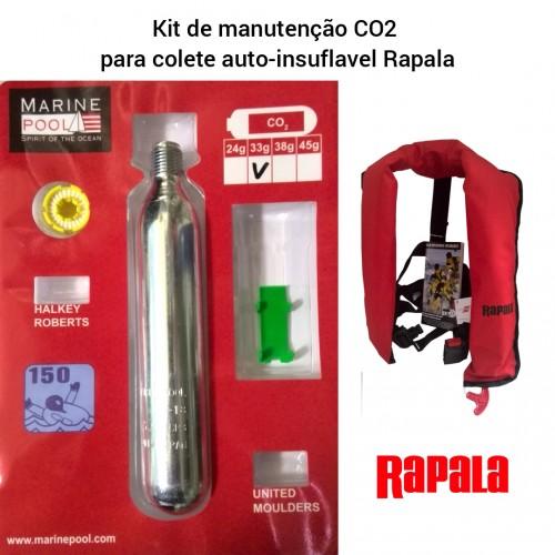Kit Manutenção Co2 para Colete Rapala