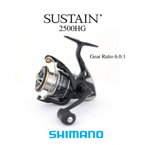 Carreto Spining Shimano Sustain