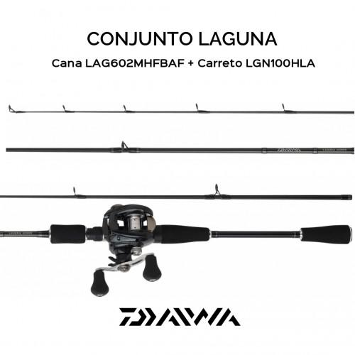 Conjunto Baitcasting Daiwa Laguna 07