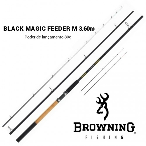 Cana Browning Black Magic Feeder M 360