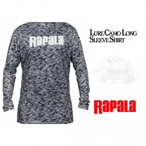 Camisola Rapala Lure Camu Long Sleeve Shirt
