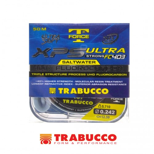 LInha 100% Fluorocarbono Trabuco XPS Ultra Strong FC403