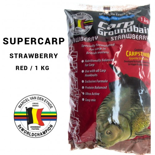 Engodo Marcel Van Der Einde  Supercarp Strawberry