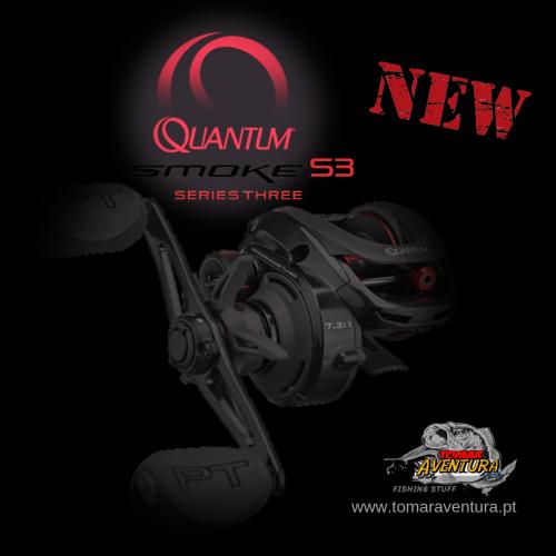 Carreto Baitcasting Quantum PT Smoke S3