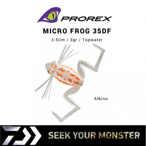 Amostra Daiwa Prorex Micro Frog 35DF