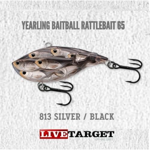 Amostra LiveTarget Yarling BaitBall RattleBait 65