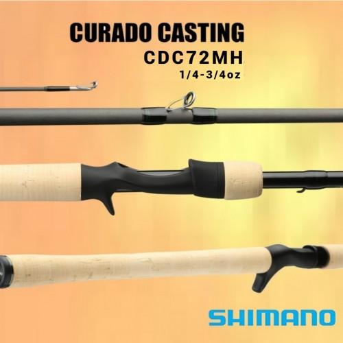 Cana Baitcasting Shimano Curado 72MH