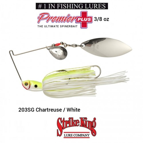 Spinerbait Strike King Premier Plus 3/8
