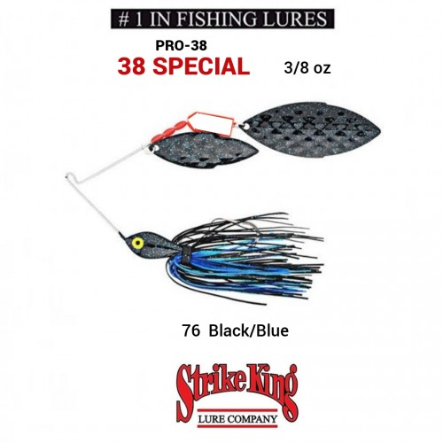 Spinerbait Strike King Pro-38 38 Special
