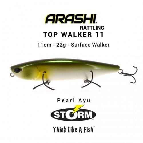 Amostra Storm Arashi Rattling Top Walker 11