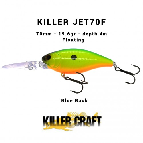 Amostra Killer Craft Killerjet 70F