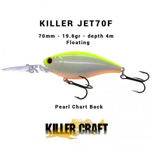 Amostra Killer Craft Killerjet 70F