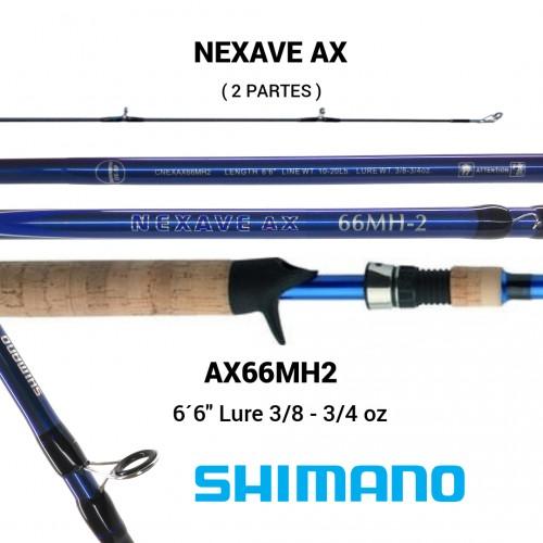 Cana Baitcasting Shimano Nextave AX 66MH2