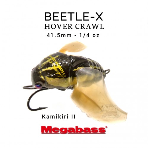 Amostra Megabass Beetle-X Hover Crawl
