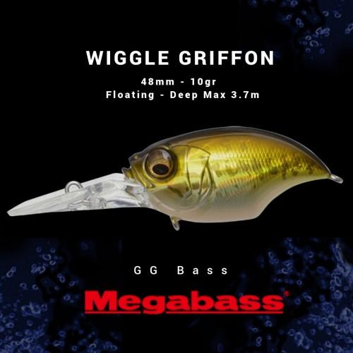 Amostra Megabass Wiglle Griffon