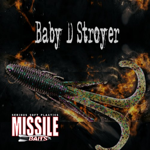 Amostra Missile Baits Baby D Stroyer
