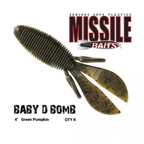 Amostra Missile Baits Baby D Bomb