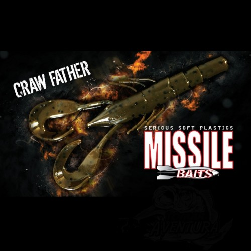 Amostra Missile Baits Craw Father