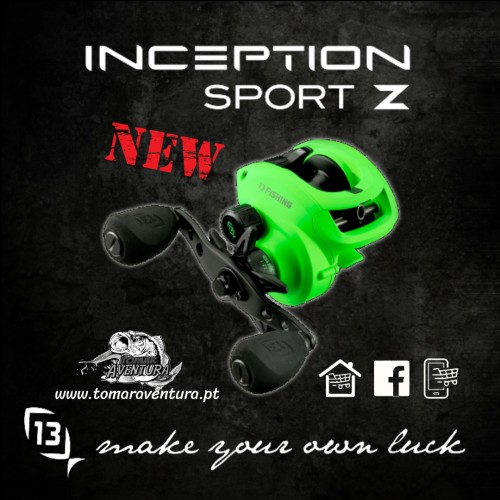 Carreto Baitcasting 13 Fishing Inception Sport